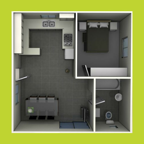 1 bedroom granny flat designs for 3 bedroom granny flat designs